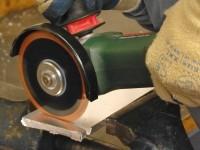 Aluminium Schweißnahtfräser für Winkelschleifer 125 mm