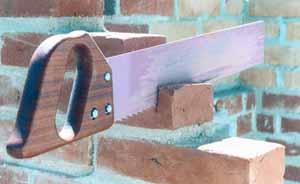Handsäge für Poroton und Mauerwerk