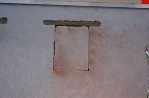 Wanddruchbruch tragende Wand mit Sturz