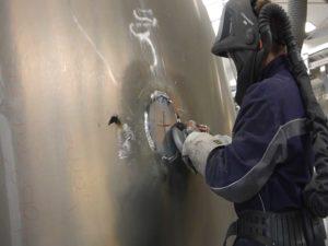 Aluminium Schleifscheiben
